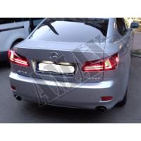 Задние фонари светодиодные, красно-светдые (LED) Лексус_Lexus IS (2005-2013)