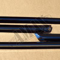 Молдинги дверей (хромовые) с надписью Land Cruiser, комплект для Тойота Ленд Крузер 200