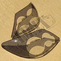 Защита фар шелкография 2005-2008