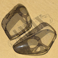 Защита фар шелкография