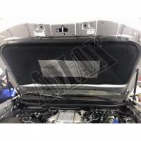 Шумоизоляция (обесшумка) капота, Тойота Ленд Крузер Прадо_ Toyota Land Cruiser Prado 150 (2018-2021)