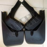 Брызговики (комплект из 4-х шт): ABS пластик + крепления на Lexus