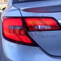 Задние фонари светодиодные на Тойота Камри 50 (США)