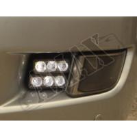 ДХО / DRL - LED, Тойота Ленд Крузер Прадо_Toyota Land Cruiser Prado 120 (2003-2008)