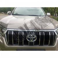 Защитные москитные сетки решеток радиатора и бампера, Тойота Ленд Крузер Прадо_ Toyota Lend Cruiser Prado 150 (2018-2021)