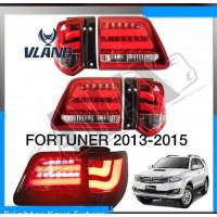 Задние фонари светодиодные для Toyota Fortuner 2013+