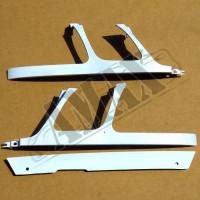 Вставки между бампером, решеткой радиатора и фарами-Лексус ЛХ_Lexus LX 470 (1998-2007)