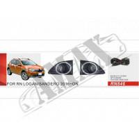 Противотуманные фары для автомобилей Renault Logan / Sandero