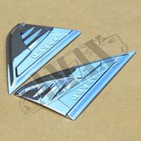 Накладки на боковые крылья ( с логотипом), Тойота Ленд Крузер Прадо_Toyota Land Cruiser Prado 150 (2013-2021)