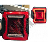 Светодиодные задние фонари для внедорожника Jeep Wrangler