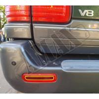 Габаритные светодиодные огни заднего бампера (стиль Mercedes)_Toyota Land Cruiser 100 (1998-2007)
